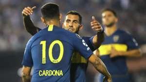 Libertad Boca Copa Libertadores Tevez Cardona 300818