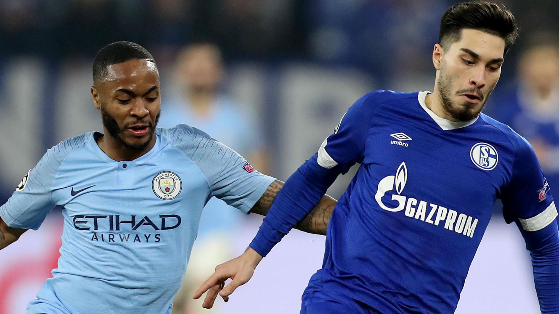 Raheem Sterling Manchester City Suat Serdar Schalke 2019