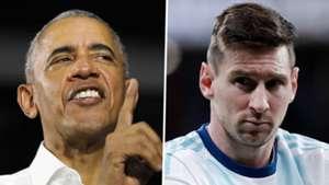 Barack Obama Lionel Messi