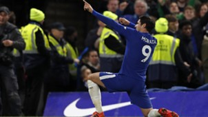 Alvaro Morata Chelsea Manchester United