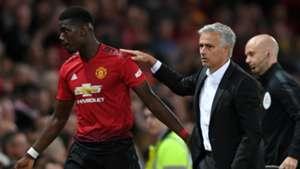 Paul Pogba Jose Mourinho Manchester United 2018-19
