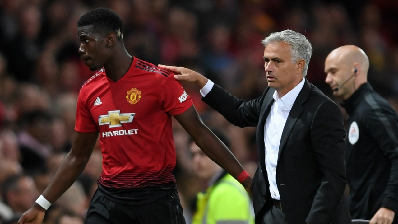 Image result for The on-going Jose Mourinho and Paul Pogba saga