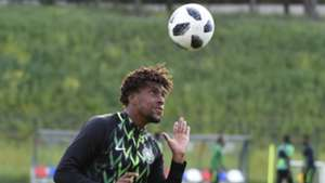 Nigeria training - Alex Iwobi