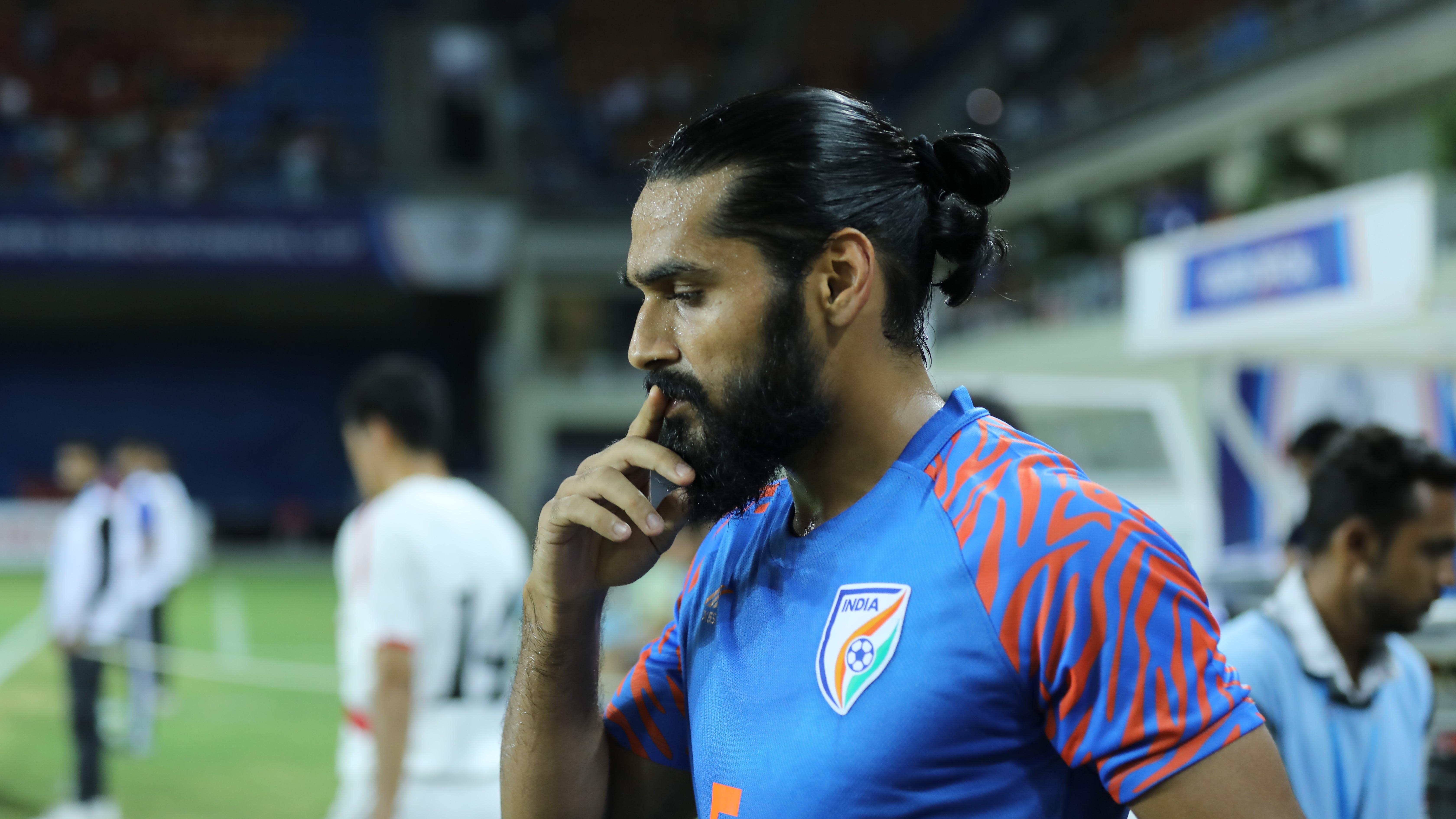 Sandesh Jhingan India DPR Korea Intercontinental Cup 2019