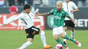 Fagner e Lucas Lima - Corinthians x Palmeiras - 24/02/2018