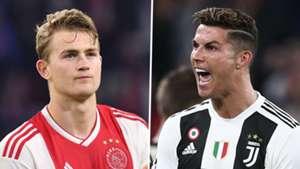 Matthijs de Ligt Cristiano Ronaldo Ajax Juventus