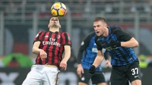 Kalinic Skriniar Milan Inter Italian Cup