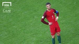 logo clear Cristiano Ronaldo | Portugal | 2017