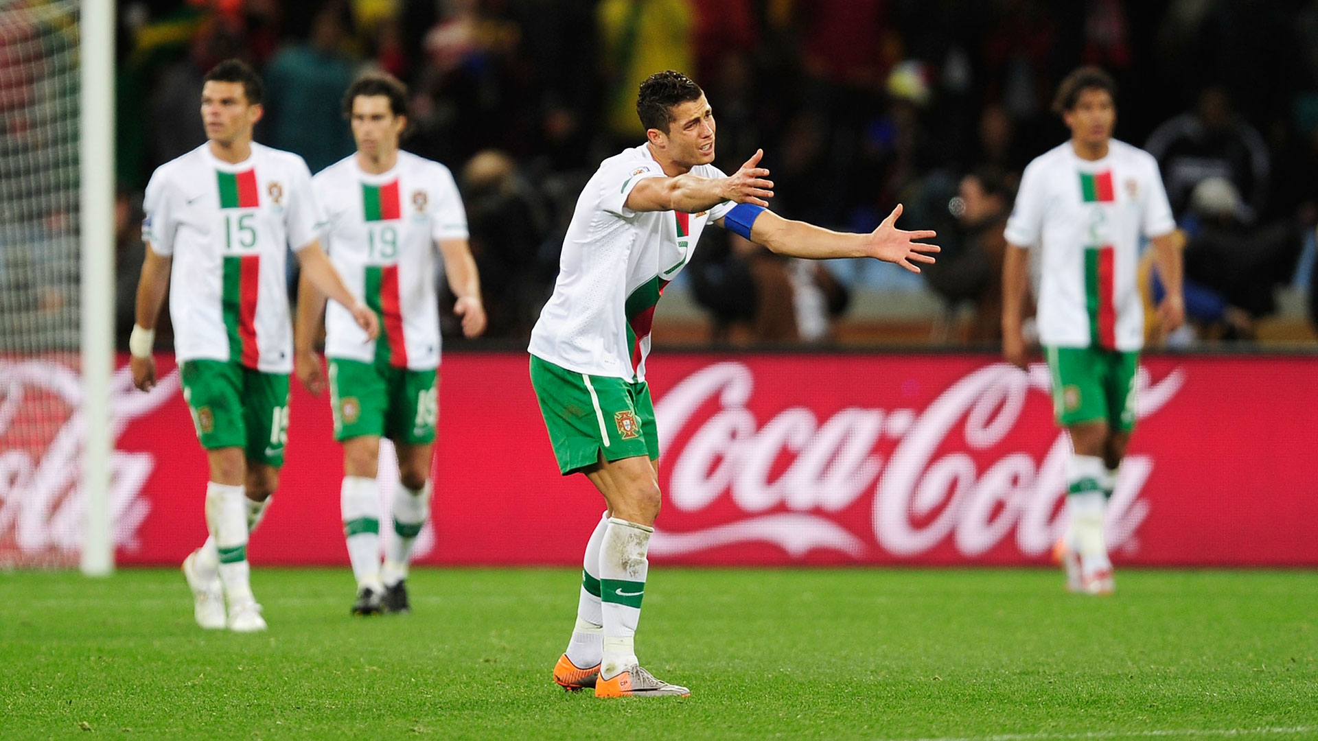 Cristiano Ronaldo Portugal Spain 2010 World Cup
