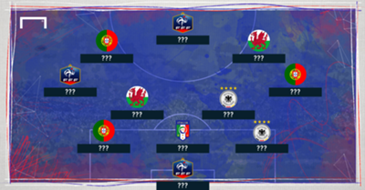Euro 2016 team of the tournament