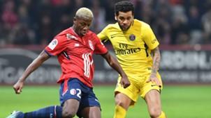 Daniel Alves Yves Bissouma Lille PSG Ligue 1 03022018