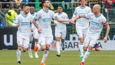 Gaston Pereiro, Jorrit Hendrix, PSV, Eredivisie 04292018