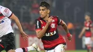 Lucas Paquetá Flamengo Atlético-GO Brasileirão 20 08 2017