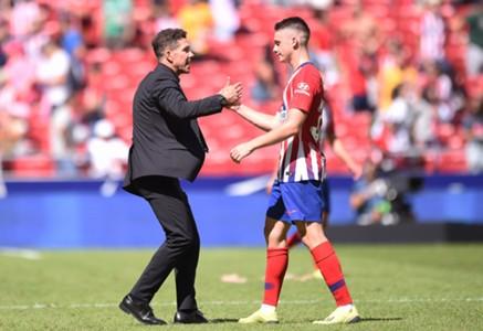 Borja Garces Diego Simeone Atletico Madrid