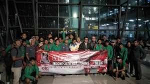 Kemenpora Sambut Kedatangan Timnas Indonesia U-16