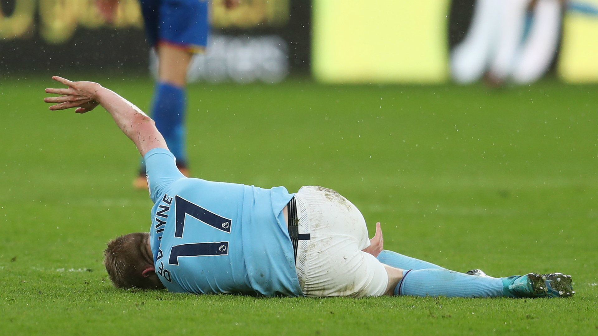 Kevin De Bruyne injury 2017