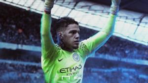 "*GALLERY"" Ederson Manchester City"