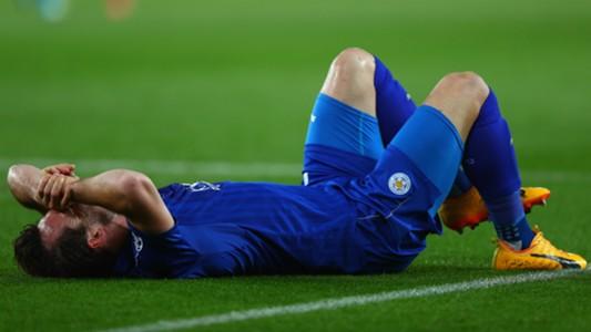 Chrstian Fuchs Leicester City