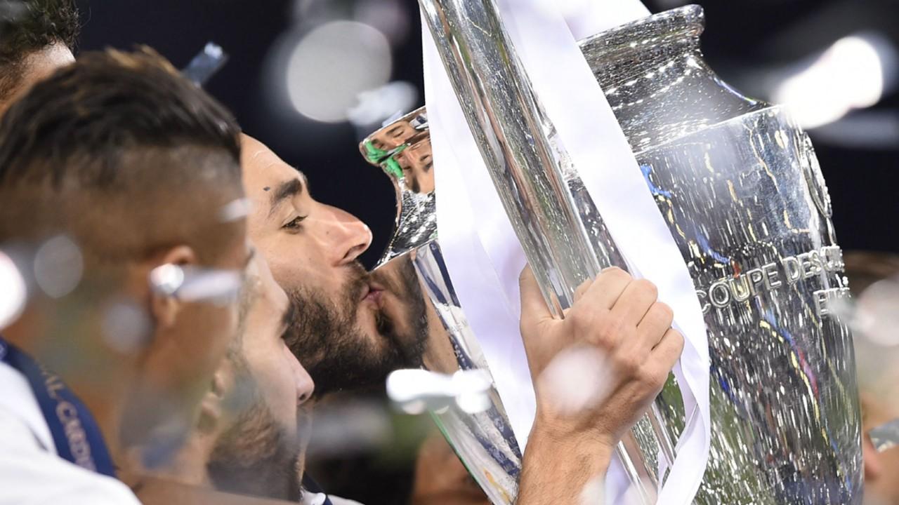 Karim Benzema Real Madrid Champions League