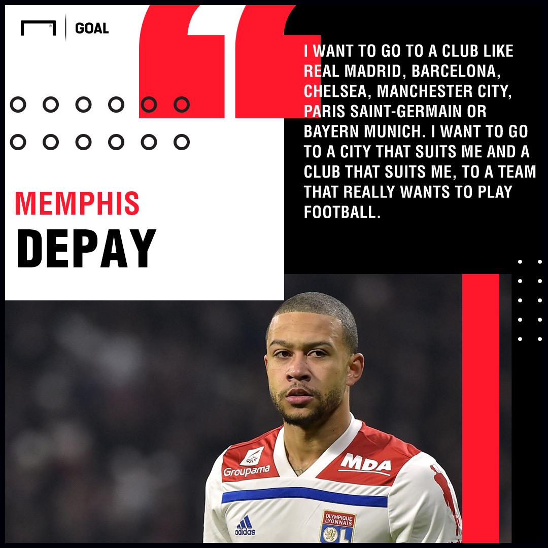 Memphis Depay Lyon PS