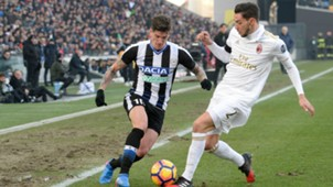 Udinese Milan De Paul De Sciglio