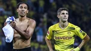Pierre-Emerick Aubameyang & Christian Pulisic : Borussia Dortmund