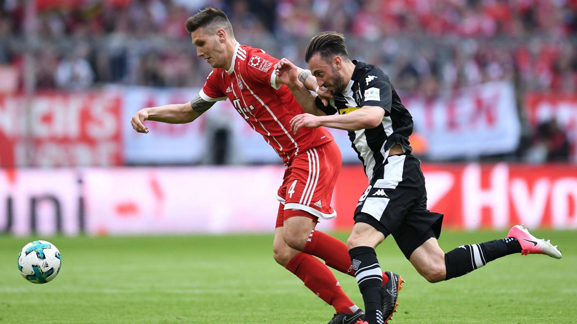 Niklas Süle Josip Drmic FC Bayern Borussia Mönchengladbach 14042018