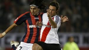 Silvera San Lorenzo Ahumada River Libertadores 2008