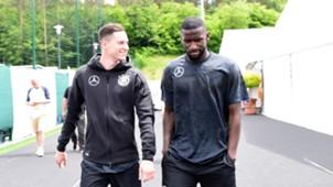 Julian Draxler Antonio Rüdiger DFB 2018