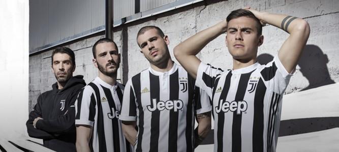 Juventus home kit 2017-18