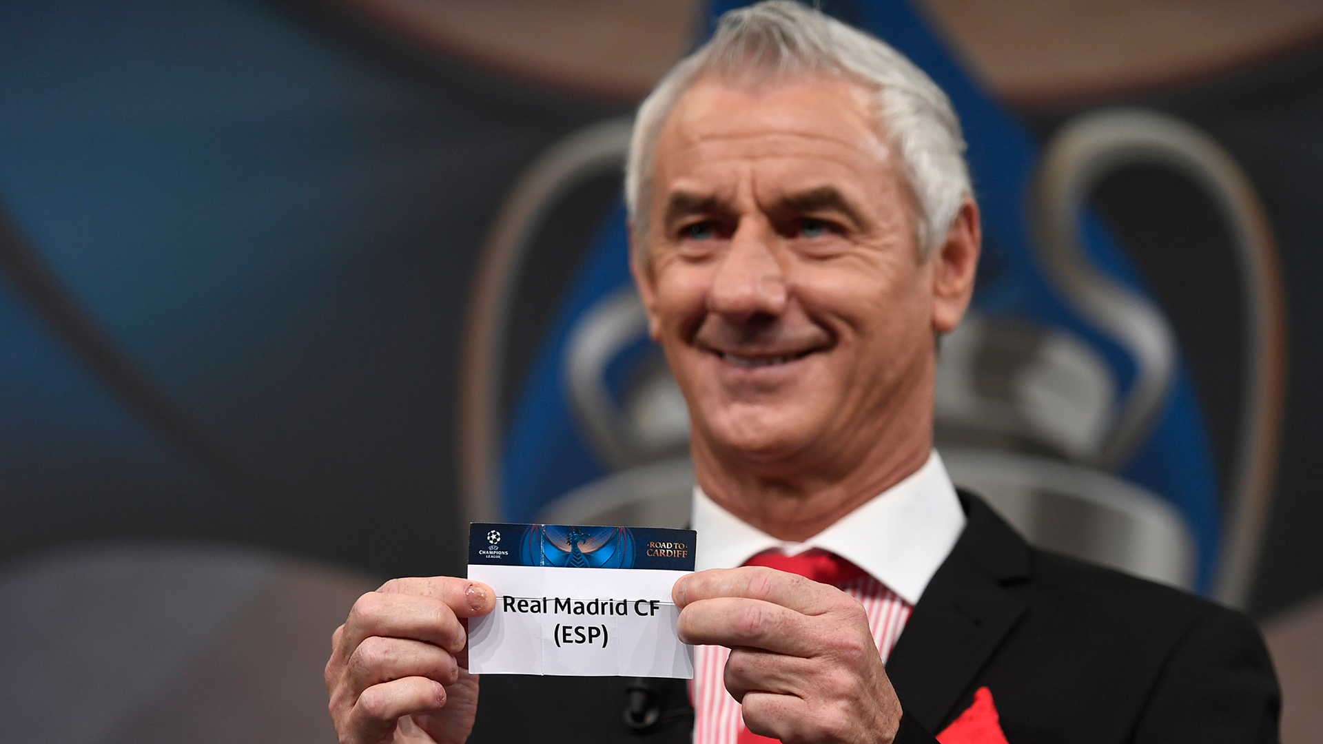 Ian Rush Champions League draw