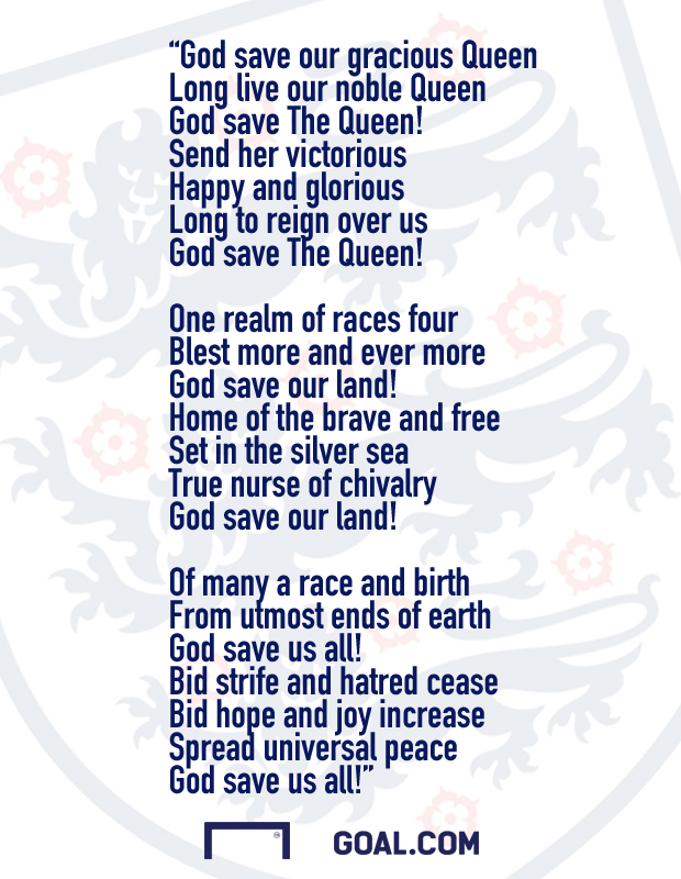 God save the queen hymne