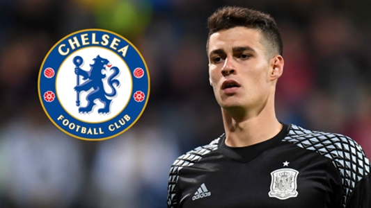 a3cab6b37 Kepa s €80m release clause paid as Chelsea seal deal for Courtois  replacement