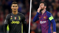 Lionel Messi Cristiano Ronaldo Barcelona Juventus Champions League 2018-19