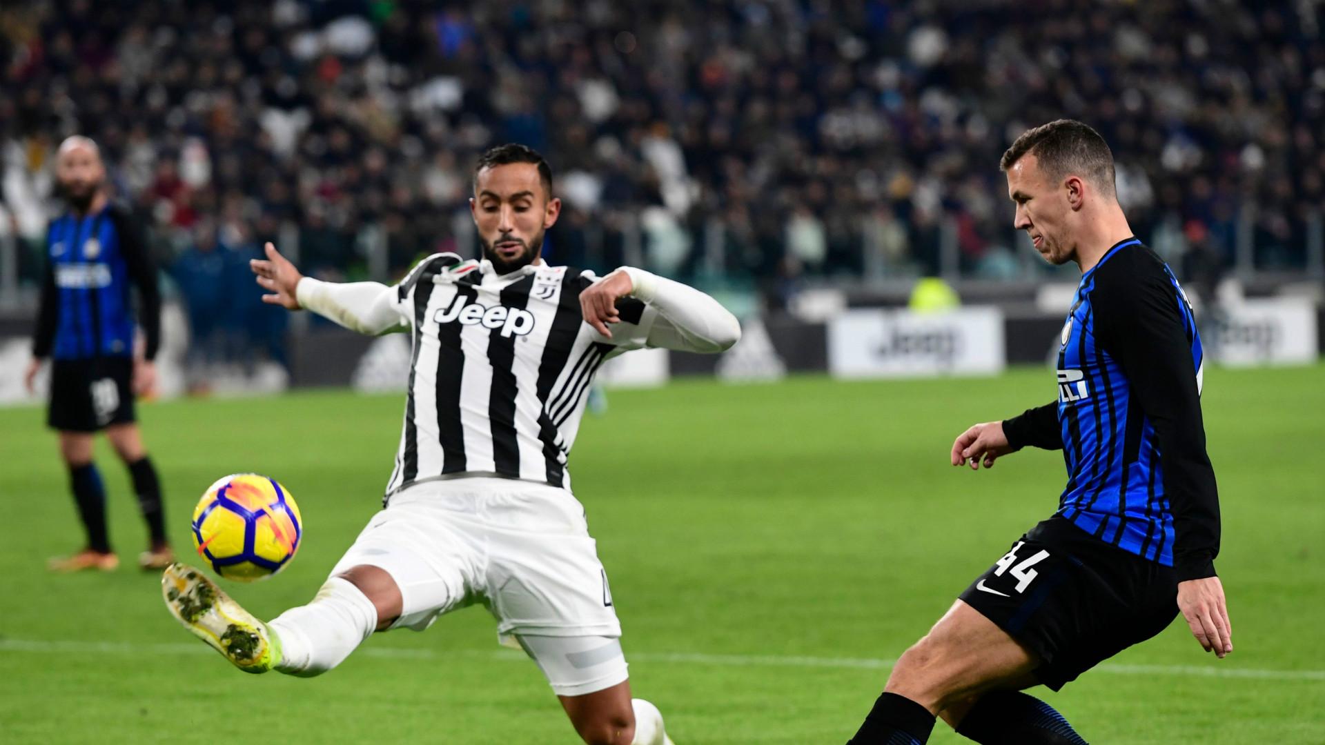 Medhi Benatia, Ivan Perisic, Juventus, Inter, Serie A, 09122017