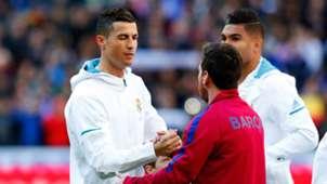 Cristiano Ronaldo Lionel Messi Real Madrid Barcelona