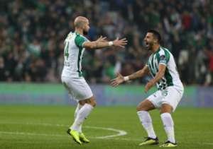 Iasmin Latovlevici Bursaspor Goal Celebration