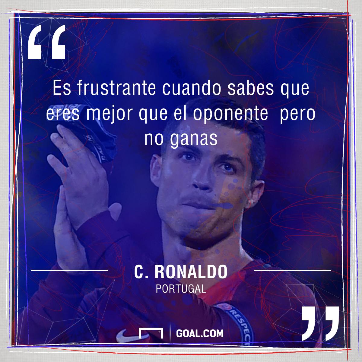 Cristiano Ronaldo: Es Frustrante Saber Que Eres Mejor Y No