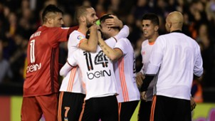 Valencia celebrate