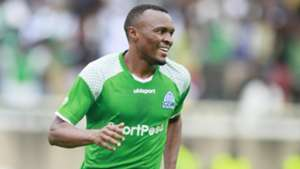 Gor Mahia striker Jacques Tuyisenge v AFC Leopards.