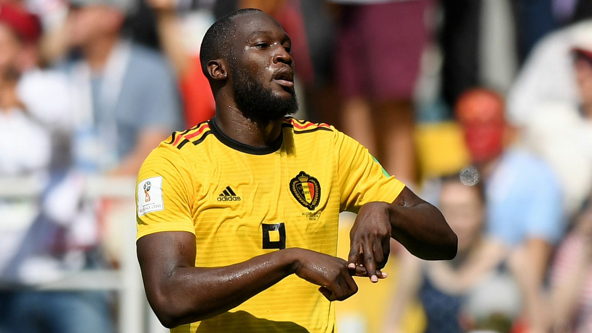 Lukaku gives Belgium 3-1 lead, levels Ronaldo