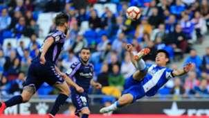 Wu Lei Espanyol Valladolid LaLiga
