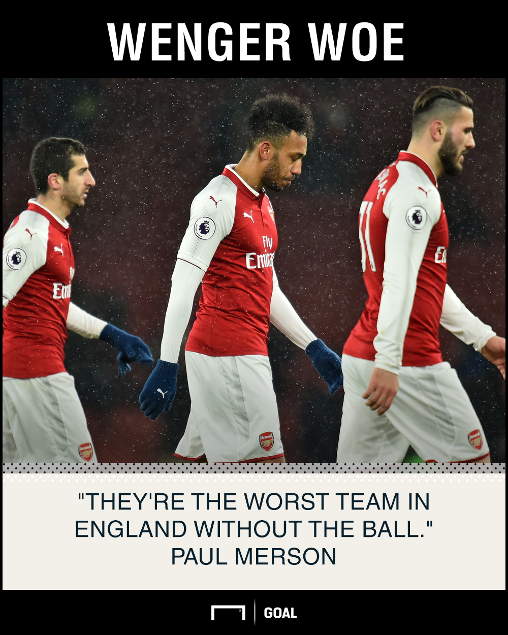 Arsenal worst without ball Paul Merson