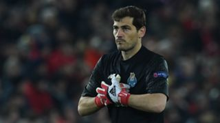 Iker Casillas Liverpool Porto