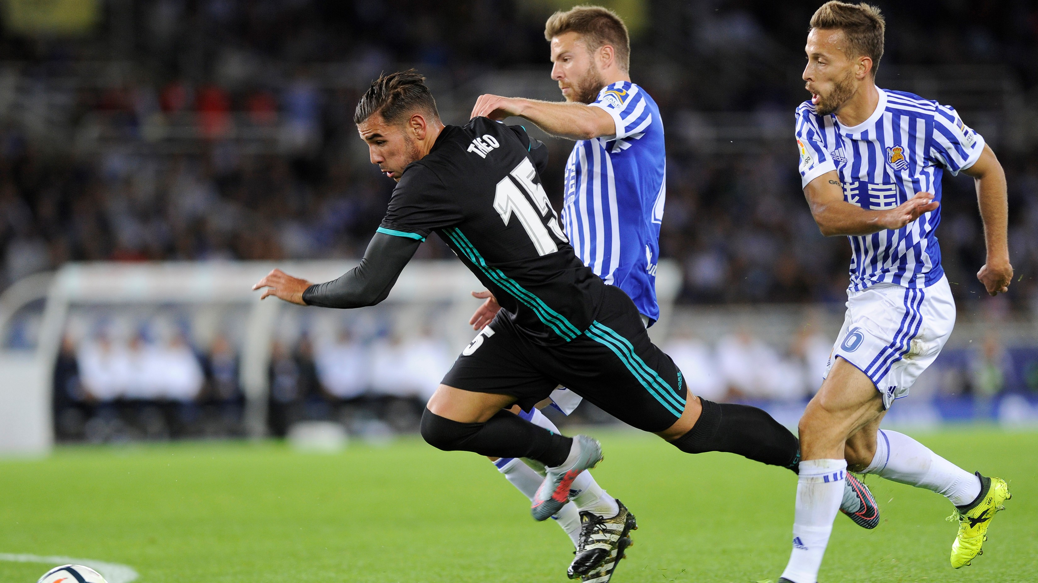 Theo Hernandez Real Sociedad Real Madrid LaLiga 17092017