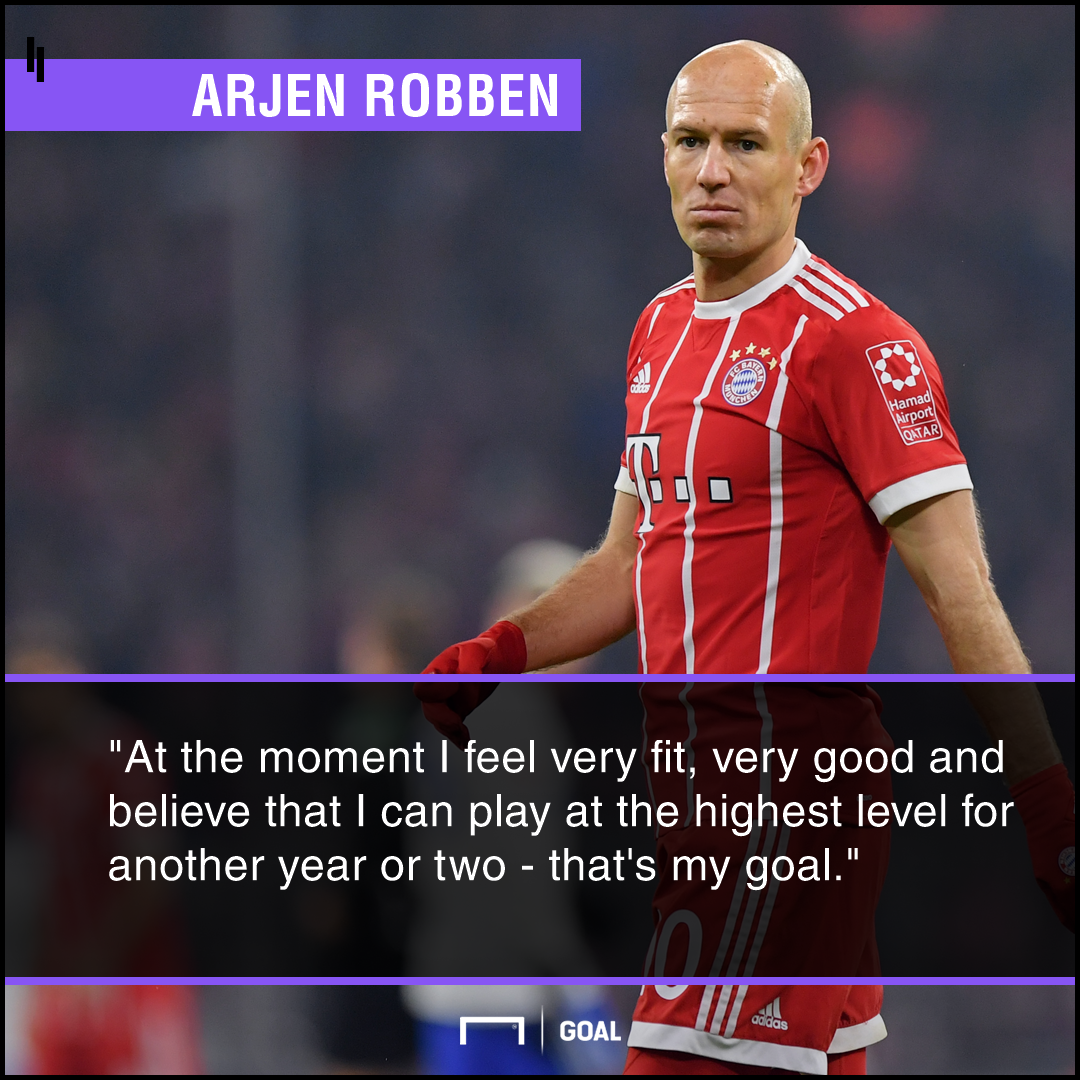 Arjen Robben two more years