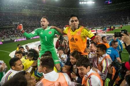 Falcao Colombia celebración Clasificación