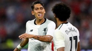 Roberto Firmino Liverpool Audi Cup