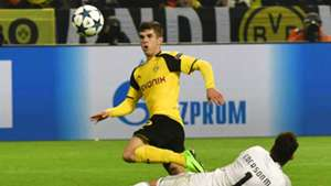 Christian Pulisic Borussia Dortmund Champions League 030817