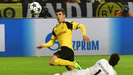 Christian Pulisic Borussia Dortmund Champions League 030817